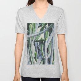 Green Crush Cactus I Unisex V-Neck