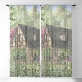 Tudor House Sheer Curtain