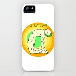 Yoga: asana iPhone Case