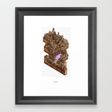 Diagonally Framed Art Print