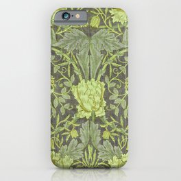 """William Morris """"Honeysuckle and tulip"""" 7. iPhone Case"""