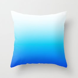 Beachy Blues Throw Pillow