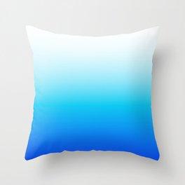 Beachy Blues Throw Pillow
