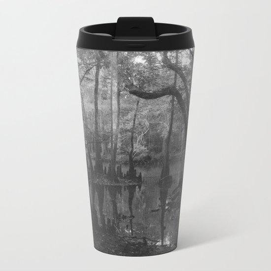 Florida Swamp Metal Travel Mug