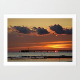 baltic sea Art Print