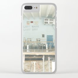 Last Wash Last Dry Clear iPhone Case