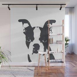 Boston Terrier Pop Art Wall Mural