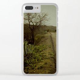el aire de ayer Clear iPhone Case