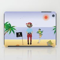 pirate iPad Cases featuring Pirate by MyimagesArt