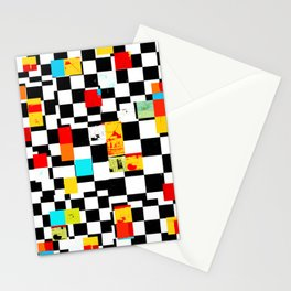 GRAPHIQUE *4 Stationery Cards