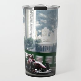Monaco Grand Prix Blur Travel Mug