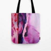 aurora Tote Bags featuring Aurora  by Nikki Neri