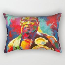 Mike Tyson- Heavyweight Champ Rectangular Pillow