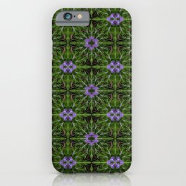 Mandrake Garden Design iPhone Case