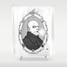 Uncle Fester Shower Curtain