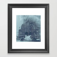 evacuate Framed Art Print