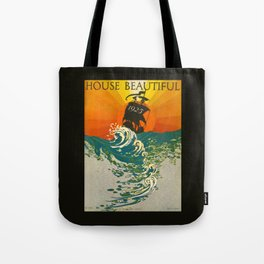 House Beautiful January 1925 Tote Bag