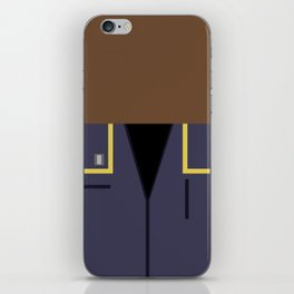 Travis Mayweather - Minimalist Star Trek: Enterprise - Trektangle - Trektangles - startrek - ensign iPhone Skin