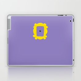 Friends Peephole Frame Laptop & iPad Skin