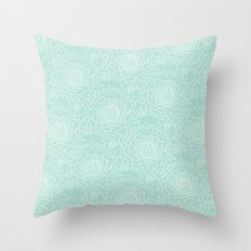 A Crowd of Mums Throw Pillow