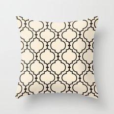 Trellis Pattern I Throw Pillow