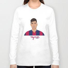 NEYMAR - FC BARCELONE Long Sleeve T-shirt