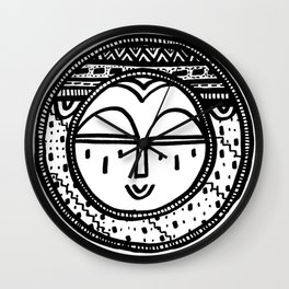 Happy People: Face 2 Wall Clock