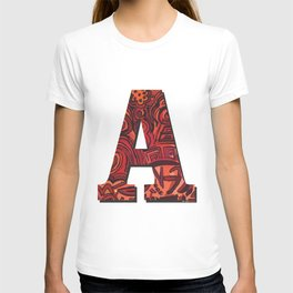 A Letter T-shirt
