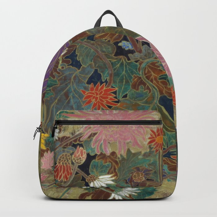 flower【Japanese painting】 Backpack