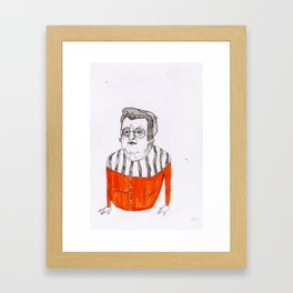 the importance of hand cream  Framed Art Print