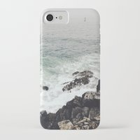 maine iPhone & iPod Cases featuring Maine Coast by Thais Marchese