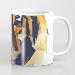 HEAD TIGER LOWPOLY STYLE Coffee Mug