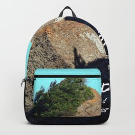 Rocher Tete d'Indien - Indian Head Rock Backpack