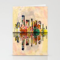 miami Stationery Cards featuring miami  by mark ashkenazi