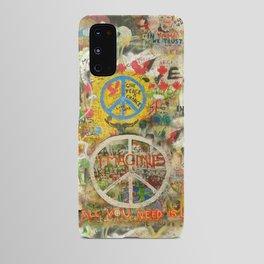Peace Sign - Love - Graffiti Android Case