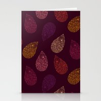 paisley Stationery Cards featuring Paisley by Vlada Young