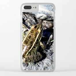 Froggy Fooooreeeeverrrrr! Clear iPhone Case