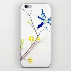Flower Me iPhone & iPod Skin