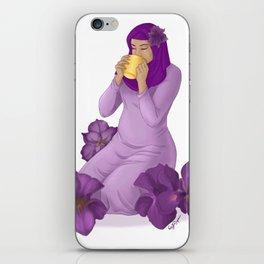 Violet Irises iPhone Skin