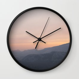Soft Dreams Wall Clock
