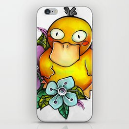 Psyduck being PsyCute iPhone Skin