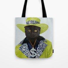 Pimp Cat Tote Bag