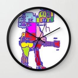 Guitarman Wall Clock