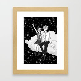 My Shooting Star Framed Art Print
