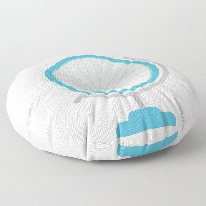 Bike Globe Floor Pillow