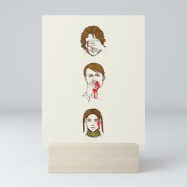 No Evil  Cannibalism Mini Art Print
