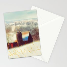 The Barn Over The Hill Stationery Cards