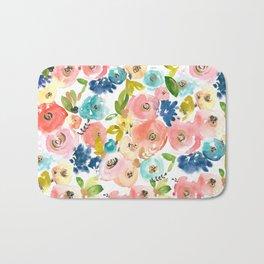 Floral POP #1 Bath Mat