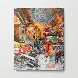 The Great American Road Trip Metal Print