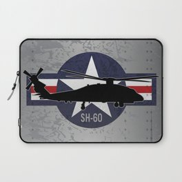 SH-60 Seahawk Helicopter Laptop Sleeve